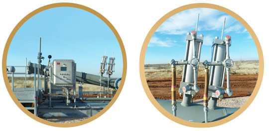 Pipeline Equipment Automation Photo