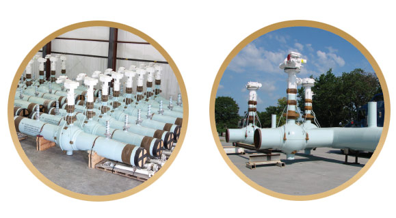 Pipeline Equipment Valve Settings